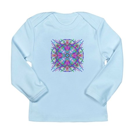 Kaleidoscope 005 Long Sleeve Infant T-Shirt