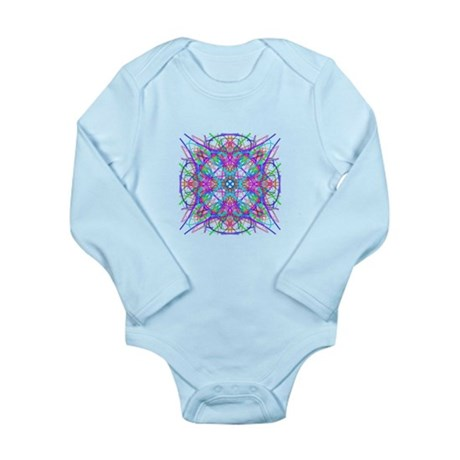 Kaleidoscope 005 Long Sleeve Infant Bodysuit