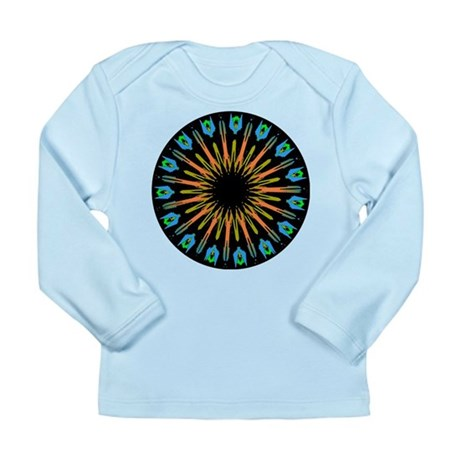 Kaleidoscope 003 Long Sleeve Infant T-Shirt