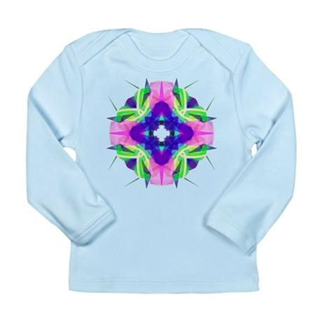 Kaleidoscope 001b Long Sleeve Infant T-Shirt