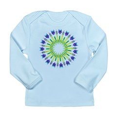 Kaleidoscope 003b Long Sleeve Infant T-Shirt
