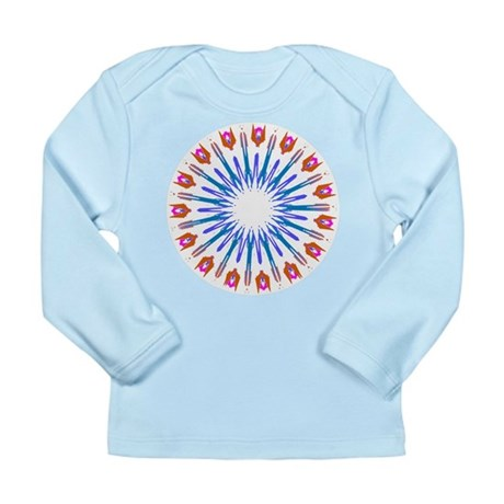 Kaleidoscope 003a Long Sleeve Infant T-Shirt