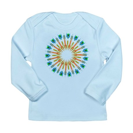 Kaleidoscope 003a1 Long Sleeve Infant T-Shirt
