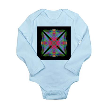 Kaleidoscope 000a2 Long Sleeve Infant Bodysuit