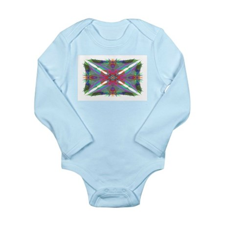 Kaliedoscope 000 Long Sleeve Infant Bodysuit