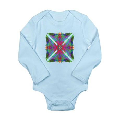 Kaleidoscope 000 Long Sleeve Infant Bodysuit