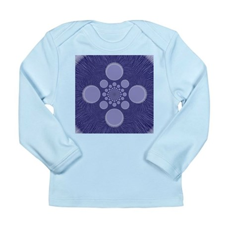 Fractal Long Sleeve Infant T-Shirt
