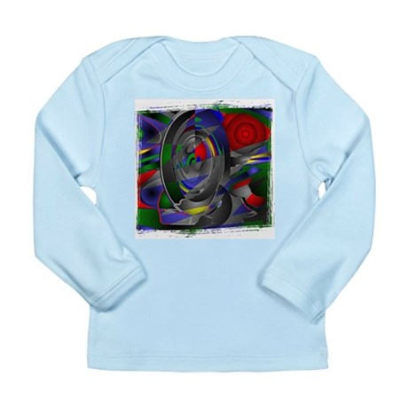 Abstract 002a Long Sleeve Infant T-Shirt