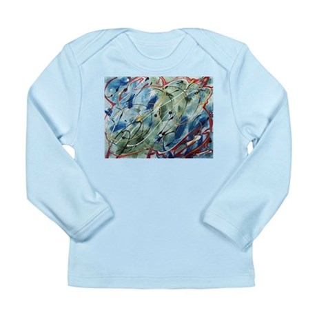 Untitled Abstract Long Sleeve Infant T-Shirt