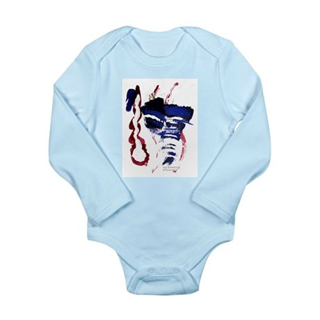 The River Long Sleeve Infant Bodysuit