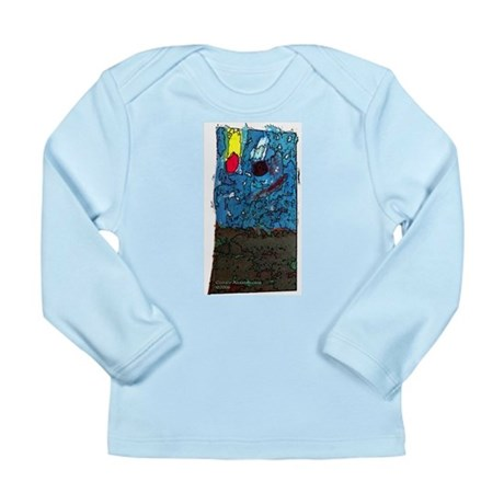 Two Asteroids Long Sleeve Infant T-Shirt