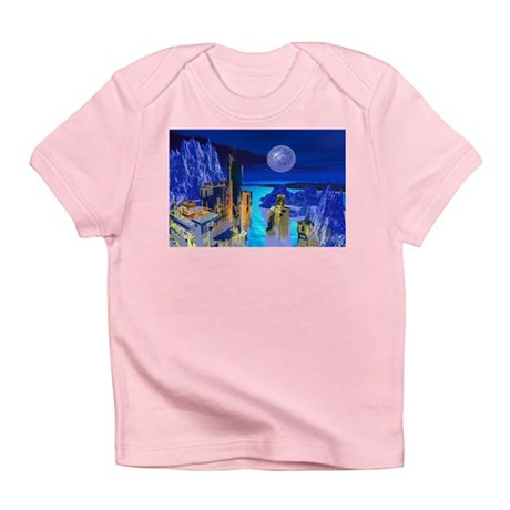 Fantasy Cityscape Infant T-Shirt