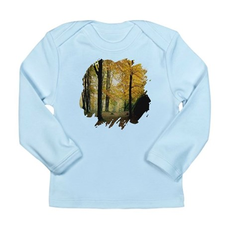 Autumn Woods Long Sleeve Infant T-Shirt