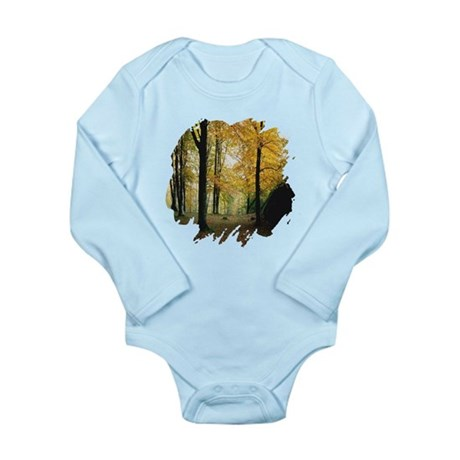 Autumn Woods Long Sleeve Infant Bodysuit