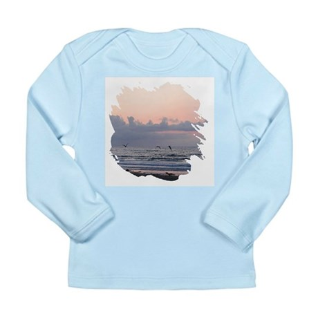 Seascape Long Sleeve Infant T-Shirt