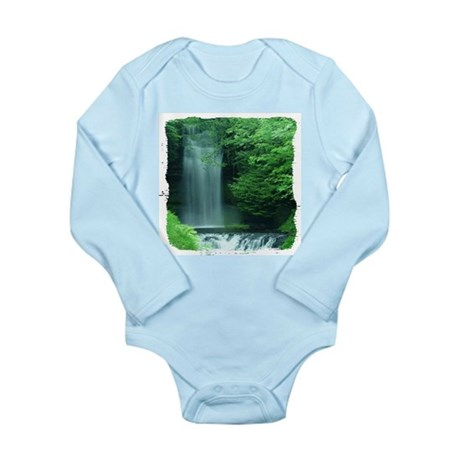 Waterfalls Long Sleeve Infant Bodysuit