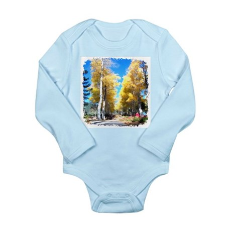 Aspen Trail Long Sleeve Infant Bodysuit