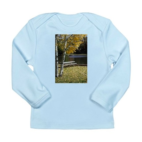 Picnic Table Long Sleeve Infant T-Shirt