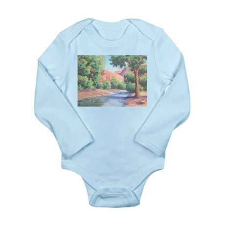 Summer Canyon Long Sleeve Infant Bodysuit