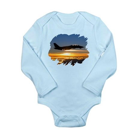 F-14 Tomcat Long Sleeve Infant Bodysuit