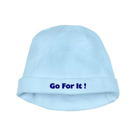 Go For It baby hat