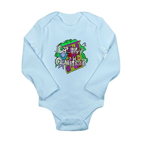 Crazy Quilter Long Sleeve Infant Bodysuit