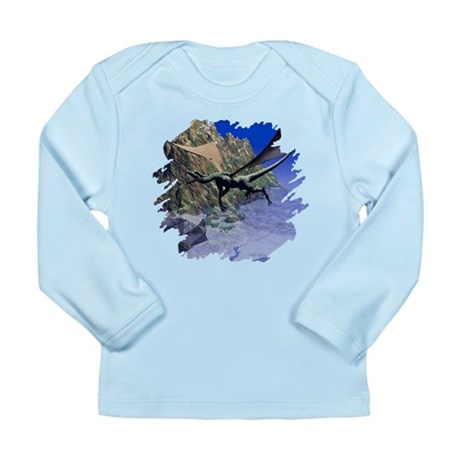 Flying Dragon Long Sleeve Infant T-Shirt