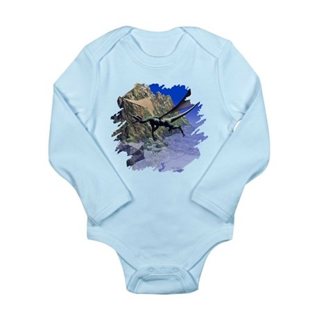 Flying Dragon Long Sleeve Infant Bodysuit
