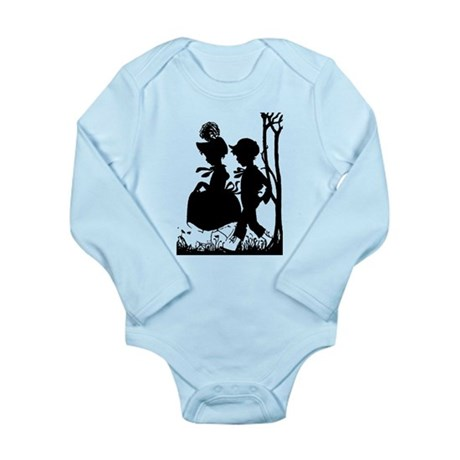 Young Love Long Sleeve Infant Bodysuit