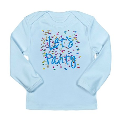 Let's Party Long Sleeve Infant T-Shirt