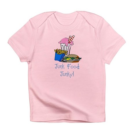 Junk Food Junky Infant T-Shirt
