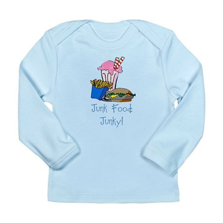 Junk Food Junky Long Sleeve Infant T-Shirt