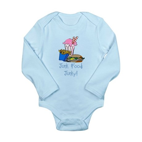 Junk Food Junky Long Sleeve Infant Bodysuit