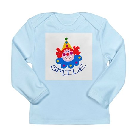 Clown Long Sleeve Infant T-Shirt