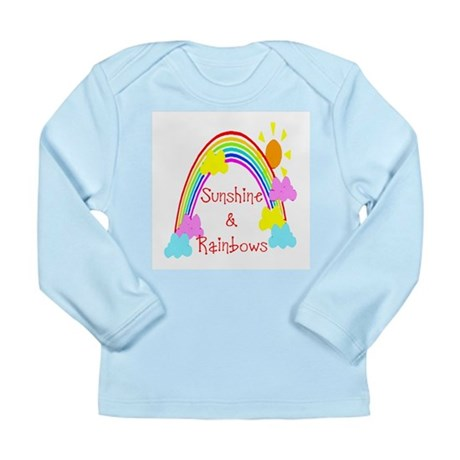 Sunshine Rainbows Long Sleeve Infant T-Shirt