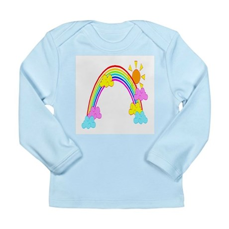 Rainbow Long Sleeve Infant T-Shirt