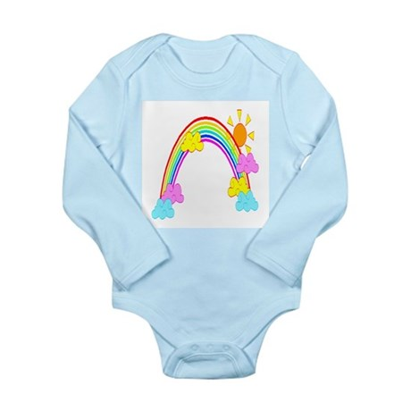 Rainbow Long Sleeve Infant Bodysuit