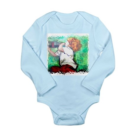 Soda Pop Long Sleeve Infant Bodysuit