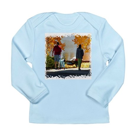 Early Autumn Stroll Long Sleeve Infant T-Shirt