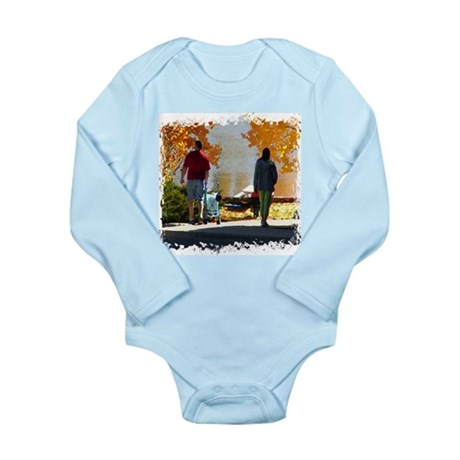 Early Autumn Stroll Long Sleeve Infant Bodysuit