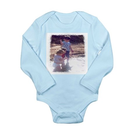 River Fun Long Sleeve Infant Bodysuit