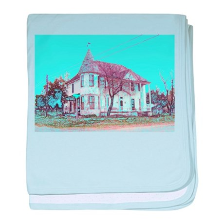 Old House on the Corner baby blanket