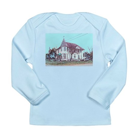 Old House on the Corner Long Sleeve Infant T-Shirt
