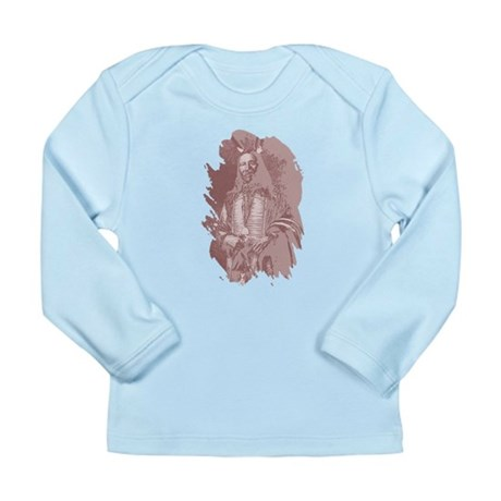 Native American Indian Long Sleeve Infant T-Shirt
