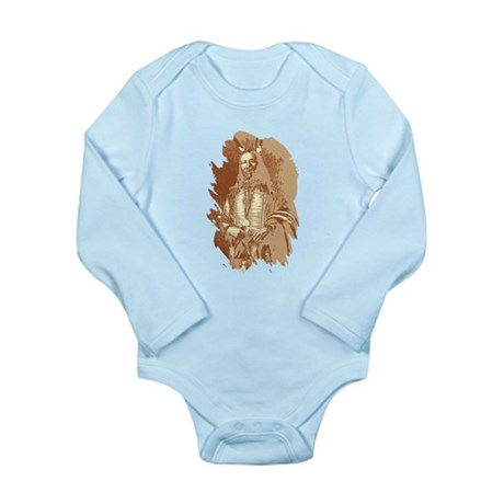 Indian Brave Long Sleeve Infant Bodysuit