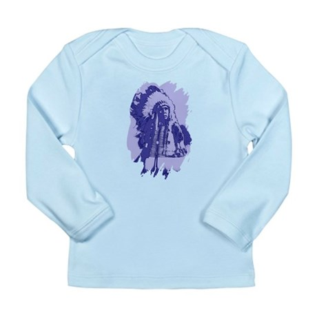 Indian Chief Long Sleeve Infant T-Shirt