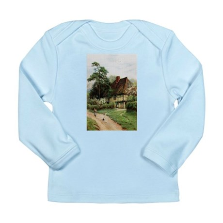 English Country Cottage Long Sleeve Infant T-Shirt