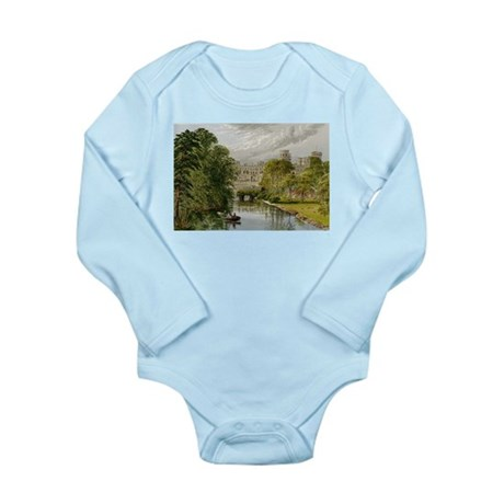 Warwick Castle Long Sleeve Infant Bodysuit