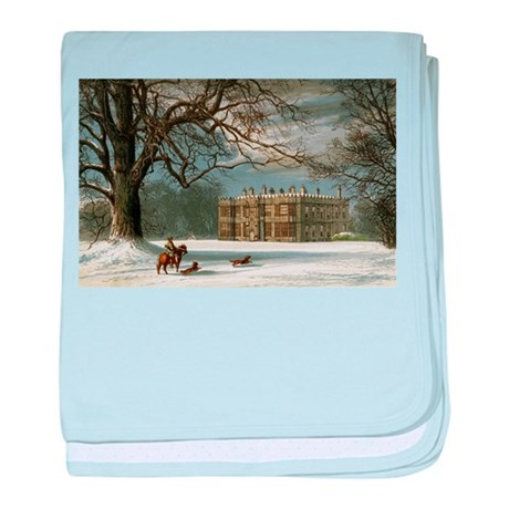 Howsham Hall baby blanket