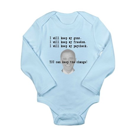 Keep the Change Long Sleeve Infant Bodysuit